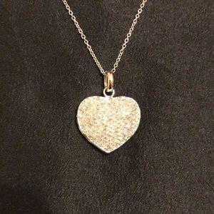 NWT Diamond/ silver locket